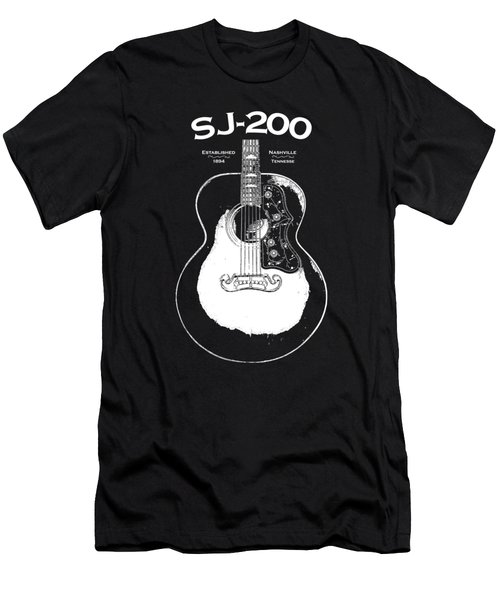 Gibson Sj-200 1948 Men's T-Shirt (Slim Fit) by Mark Rogan