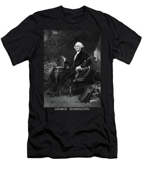 George Washington Men's T-Shirt (Athletic Fit)