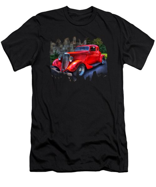 1934 Red Ford Coupe Men's T-Shirt (Athletic Fit)