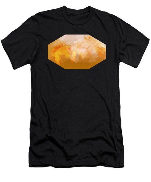 Flaxen Manes Men's T-Shirt (Athletic Fit)