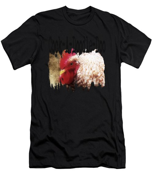Rooster Rise Men's T-Shirt (Athletic Fit)