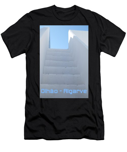 Mediterranean Staircase Men's T-Shirt (Athletic Fit)