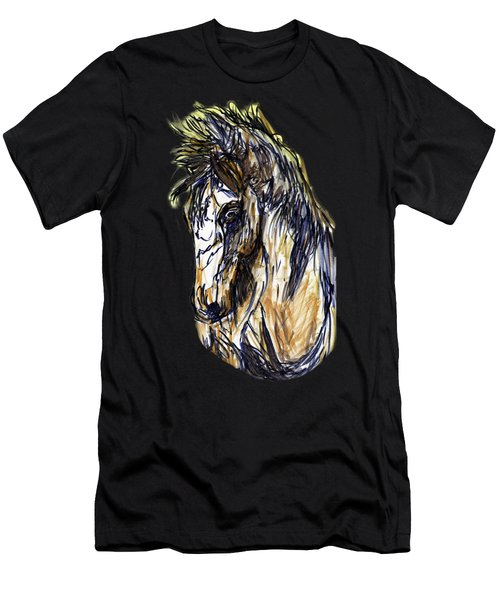 Horse Twins II Men's T-Shirt (Athletic Fit)