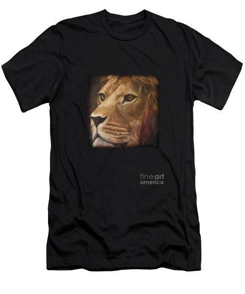 Kindness Lion Men's T-Shirt (Athletic Fit)