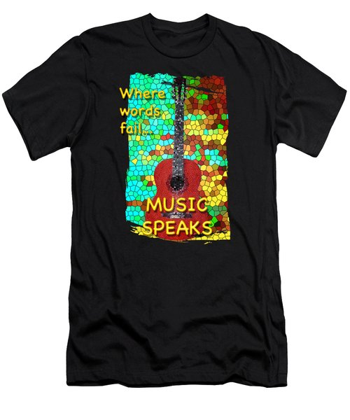 Guitar Fantasy Two Men's T-Shirt (Athletic Fit)