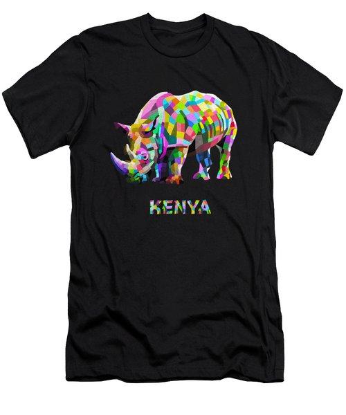 Wild Rainbow Men's T-Shirt (Athletic Fit)