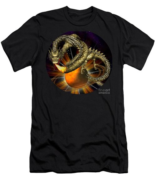Dragons Are In Space # 2 Men's T-Shirt (Athletic Fit)