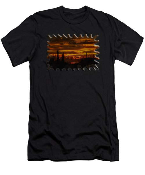Sunset No.16 Men's T-Shirt (Athletic Fit)