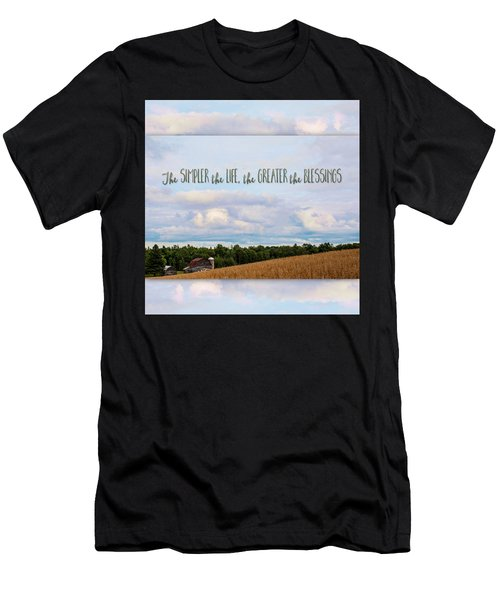 The Simpler Life Men's T-Shirt (Athletic Fit)