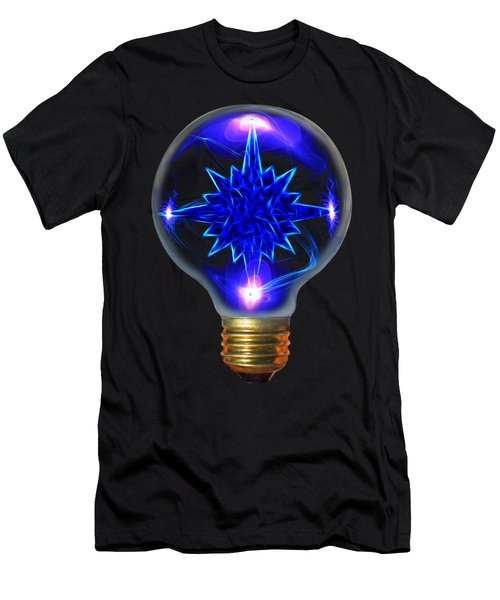 Men's T-Shirt (Slim Fit) featuring the photograph A Bright Idea by Shane Bechler
