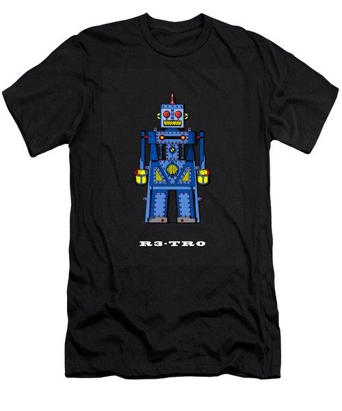 R3 Tr0 Robot Men's T-Shirt (Athletic Fit)