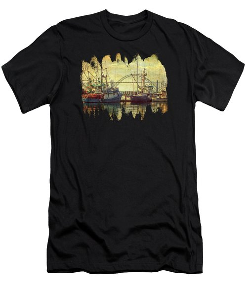 Fishing Fleet  Men's T-Shirt (Athletic Fit)