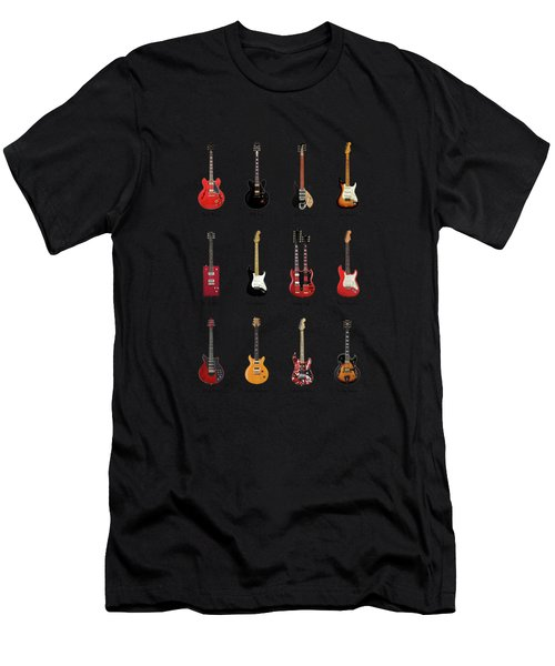 Guitar Icons No1 Men's T-Shirt (Athletic Fit)
