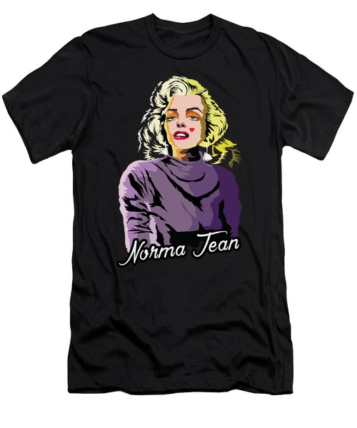 The Timeless Norma Jean Men's T-Shirt (Slim Fit) by Anthony Mwangi