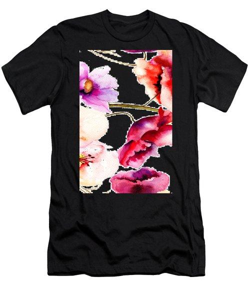 Flowers 02 Men's T-Shirt (Athletic Fit)