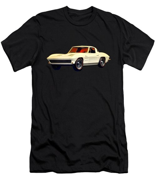 1963 Corvette 2nd Generation Men's T-Shirt (Athletic Fit)