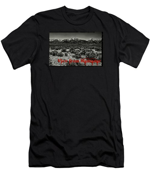 Mount Whitney From The Western Boundary Of Manzanar Concentratio Men's T-Shirt (Athletic Fit)