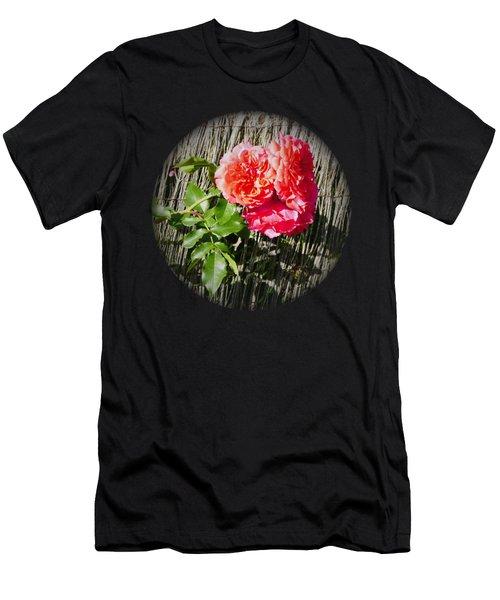 Floral Escape Men's T-Shirt (Athletic Fit)