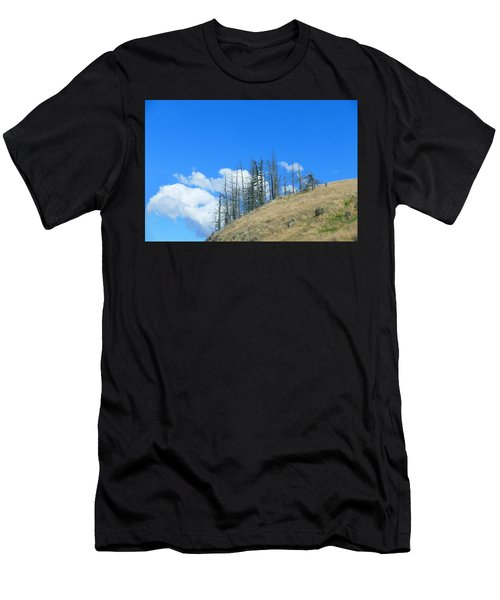 Men's T-Shirt (Athletic Fit) featuring the photograph At The End Of The World by Ivana Westin