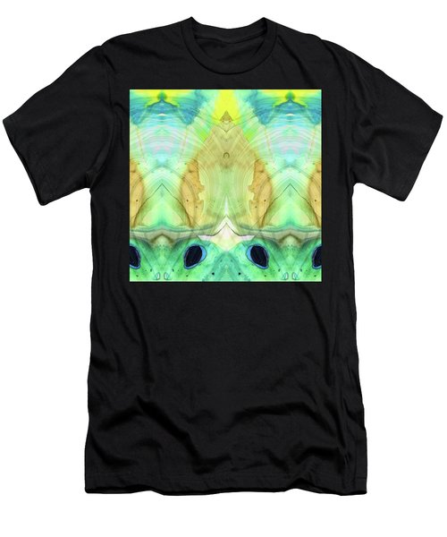 Abstract Art - Calm - Sharon Cummings Men's T-Shirt (Athletic Fit)