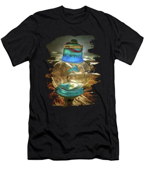 Beach Treasures - Faith Men's T-Shirt (Athletic Fit)