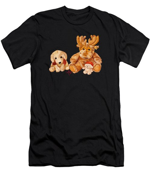 Christmas Buddies II Men's T-Shirt (Athletic Fit)