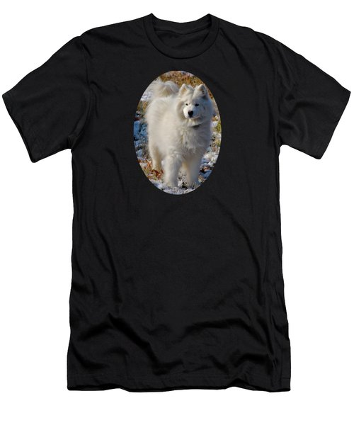 Men's T-Shirt (Slim Fit) featuring the photograph First Snow by Lois Bryan