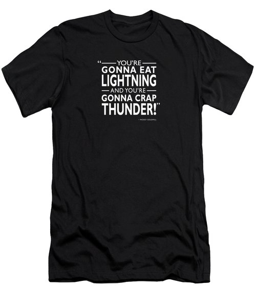 Gonna Eat Lightning Men's T-Shirt (Athletic Fit)