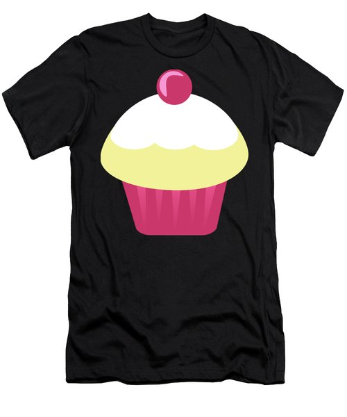 Candy Cupcake  Men's T-Shirt (Athletic Fit)