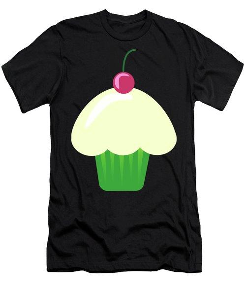 Cherry Cupcake  Men's T-Shirt (Athletic Fit)
