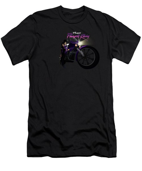 I Grew Up With Purplerain Men's T-Shirt (Athletic Fit)