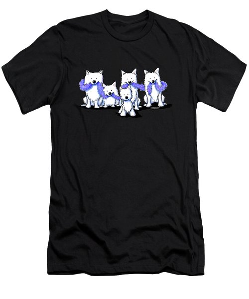 Sams And Westie Men's T-Shirt (Athletic Fit)