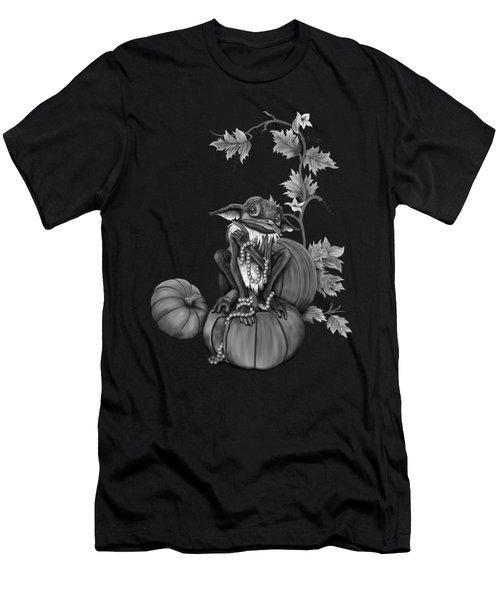 Explain Yourself - Black And White Fantasy Art Men's T-Shirt (Athletic Fit)