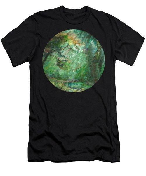 Rainy Woods Men's T-Shirt (Athletic Fit)