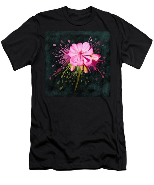 Men's T-Shirt (Athletic Fit) featuring the painting Color Eruption  by Ivana Westin