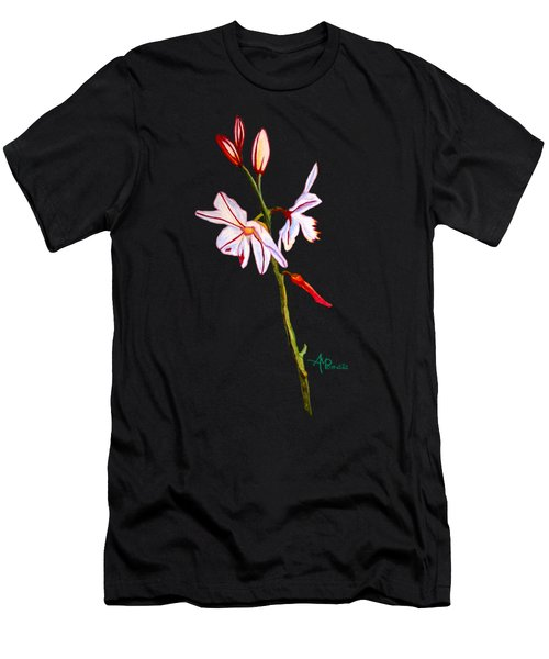A Single Lily Men's T-Shirt (Athletic Fit)