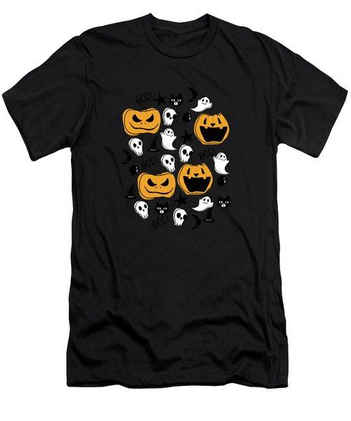 Halloween Creatures Men's T-Shirt (Athletic Fit)
