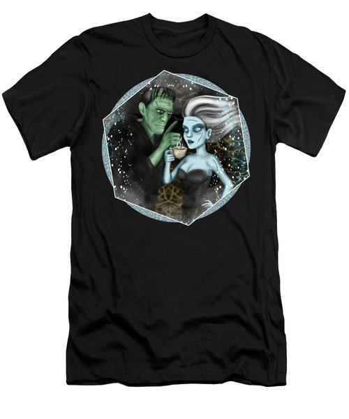 Frankenstien Fantasy Art Men's T-Shirt (Athletic Fit)