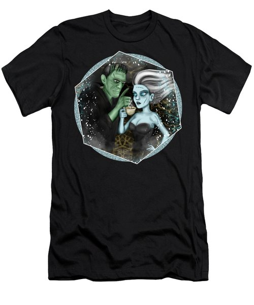 Frankenstien Fantasy Art Men's T-Shirt (Athletic Fit)