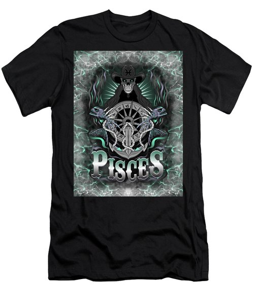 The Fish Pisces Spirit Men's T-Shirt (Athletic Fit)