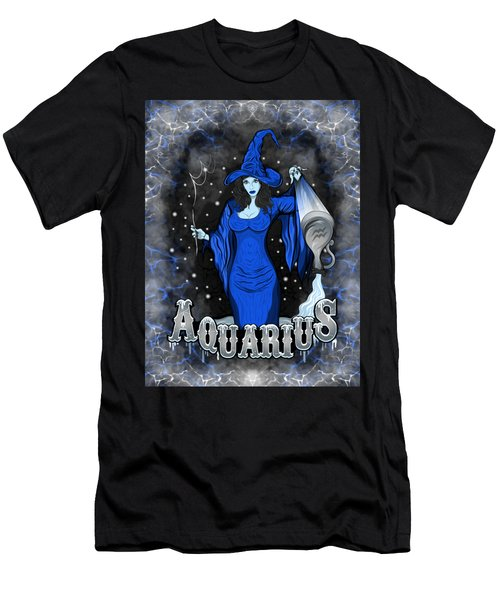 The Water Bearer Aquarius Spirit Men's T-Shirt (Athletic Fit)