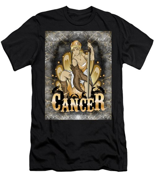 The Crab Cancer Spirit Men's T-Shirt (Athletic Fit)