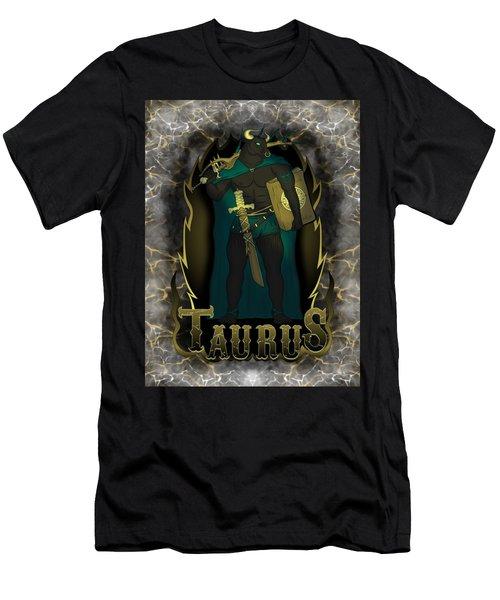 The Bull Taurus Spirit Men's T-Shirt (Athletic Fit)