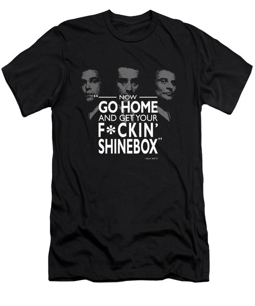 Go Home And Get Your Shinebox Men's T-Shirt (Athletic Fit)