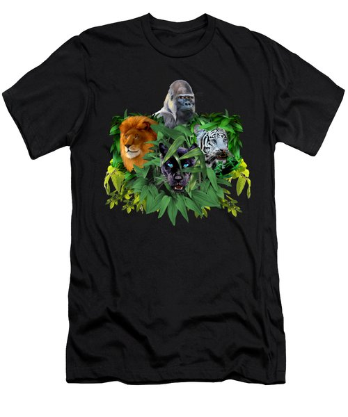 Jungle Guardians Men's T-Shirt (Athletic Fit)