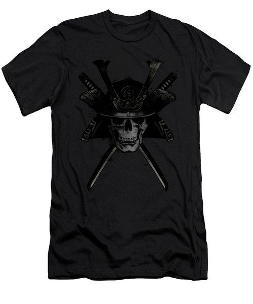 Samurai Skull Men's T-Shirt (Athletic Fit)