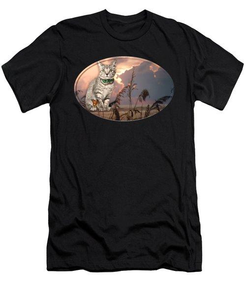 Dune Kitty Men's T-Shirt (Athletic Fit)