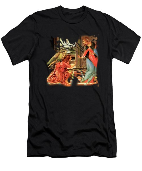The Annunciation Virgin Mary Archangel Gabriel Men's T-Shirt (Athletic Fit)