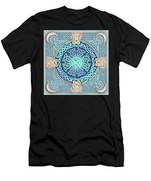 Celtic Eye Of The World Men's T-Shirt (Athletic Fit)