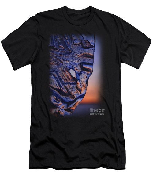 Men's T-Shirt (Athletic Fit) featuring the photograph Ice Lord by Sami Tiainen